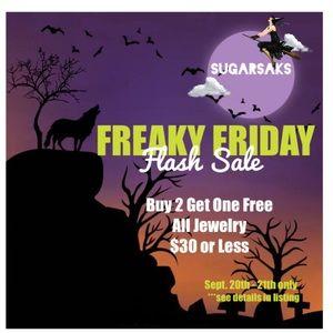 Freaky Friday Flash Sale 🎃 Jewelry Buy 2-Get 1